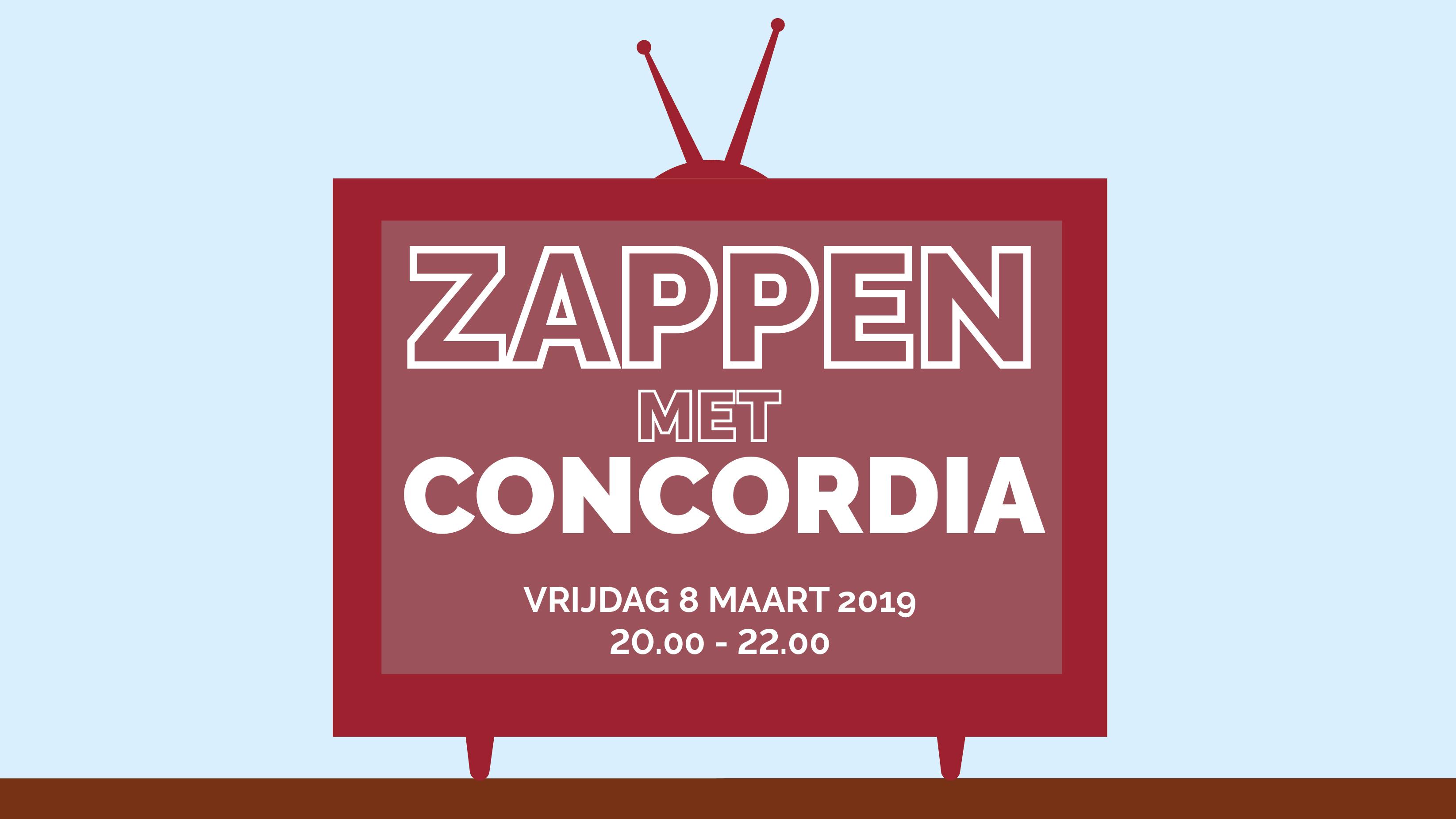 Zappen met Concordia