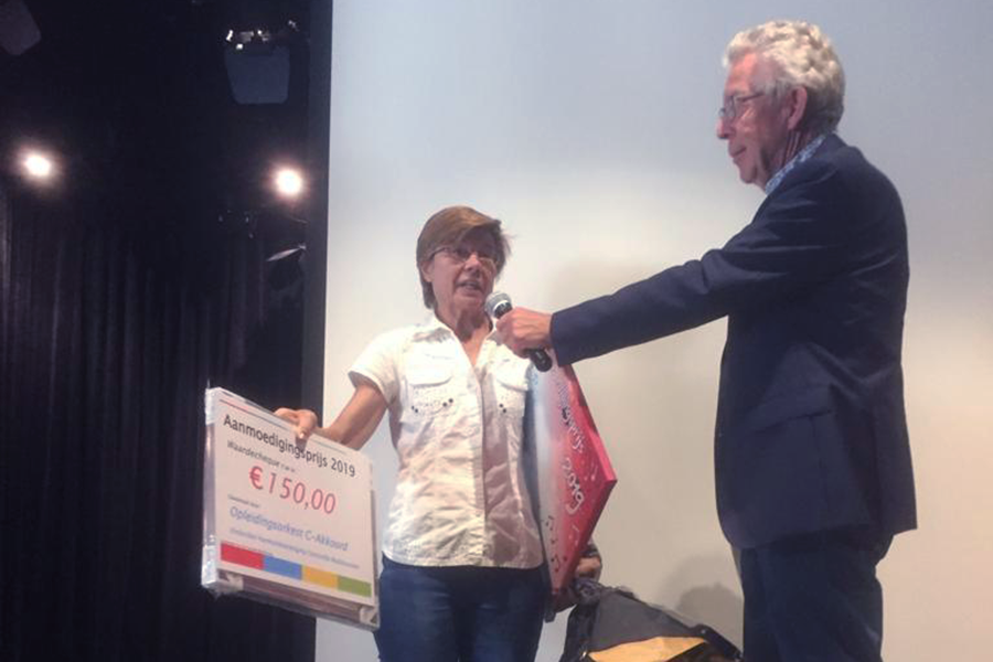 C-Akkoord wint aanmoedigingsprijs op WadCultureel 2019